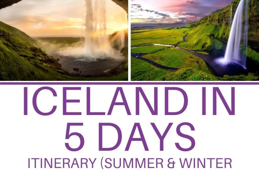 5-DAY ICELAND ITINERARY