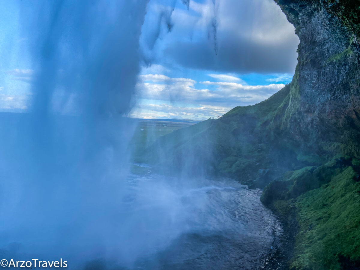 Seljalandsfoss waterfall for your Iceland in 5 days itinerary