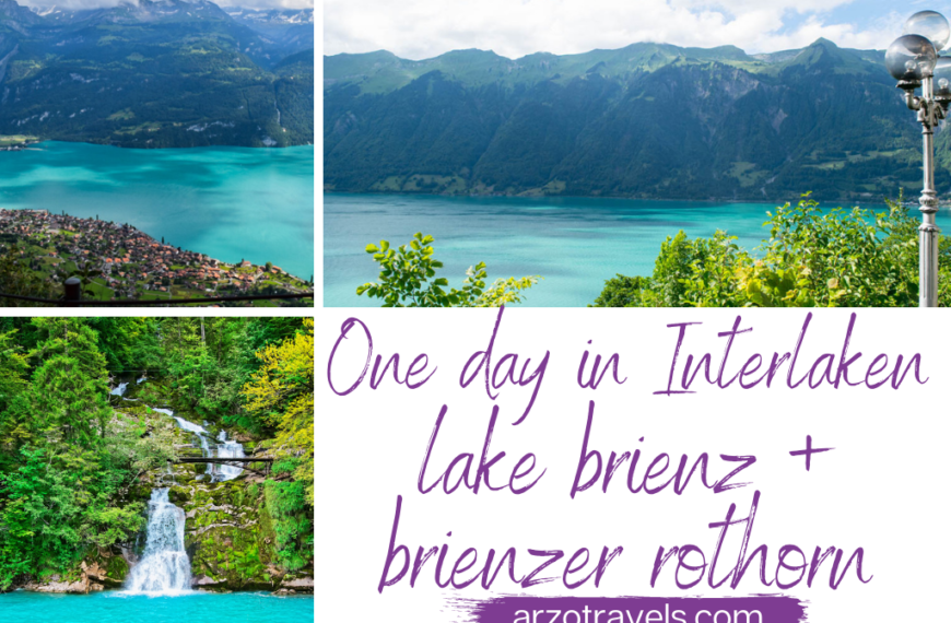 HOW TO HAVE AN EPIC ONE DAY IN INTERLAKEN