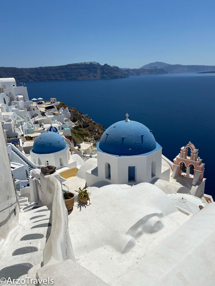 3 days in Santorini with Arzo Travels