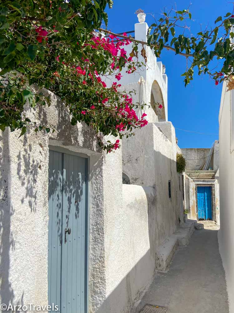 Attractions in Pyrgos in Santorini, Greece with Arzo Travels