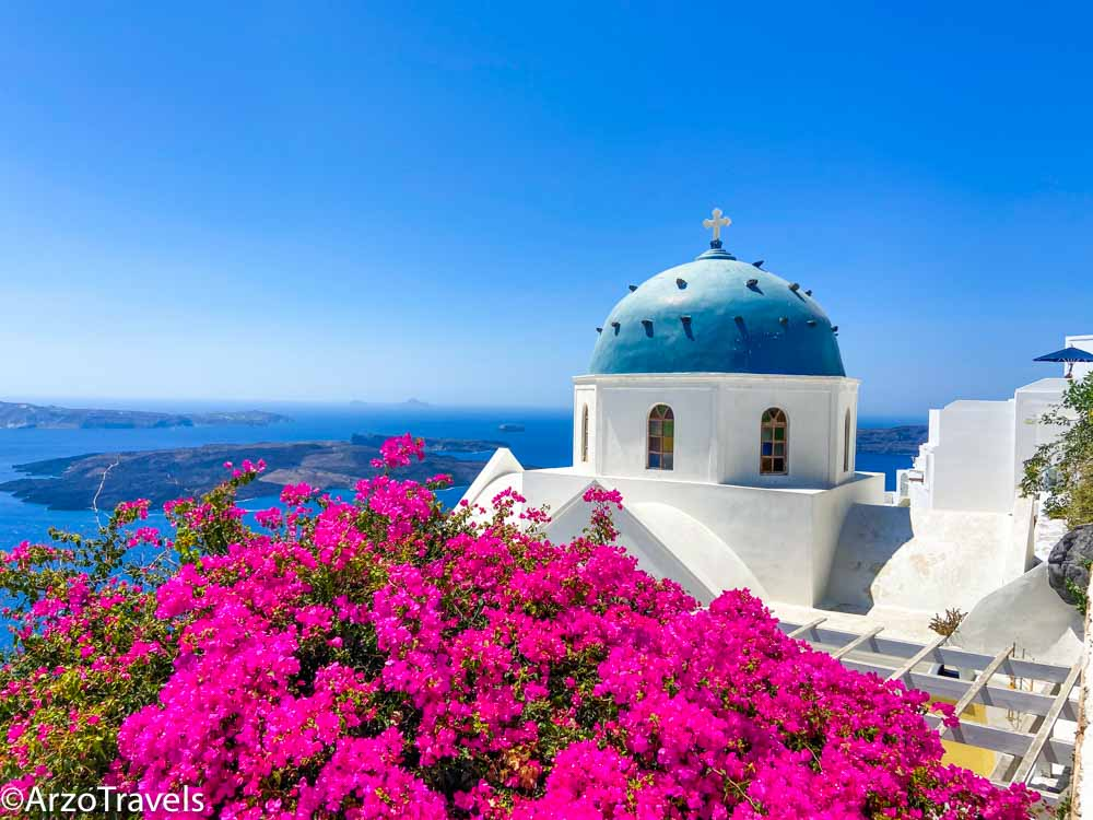 Beautiful places in Santorni in 3 days Arzo Travels