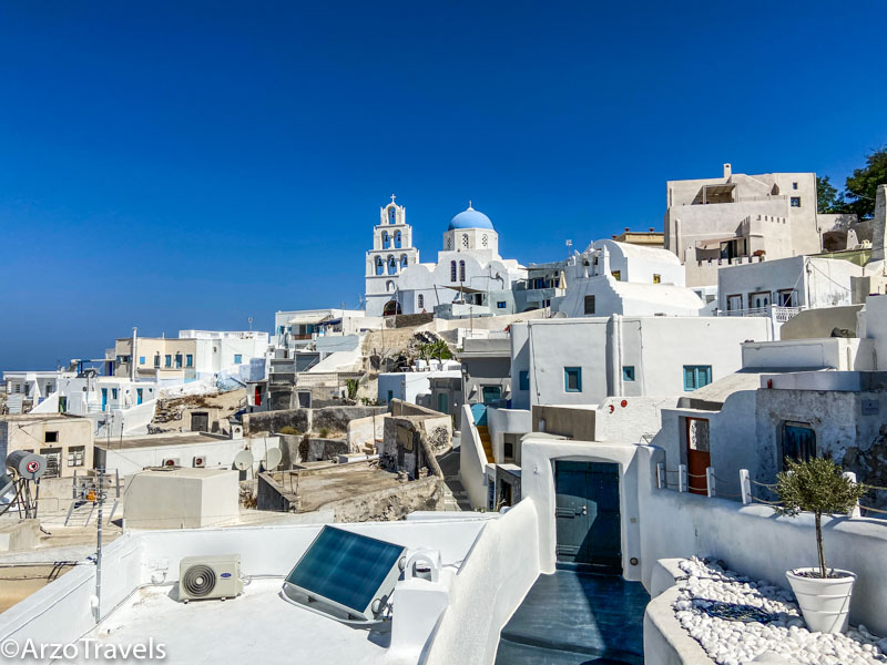 Best things to do in Pyrgos in Santorini, Greece with Arzo Travels