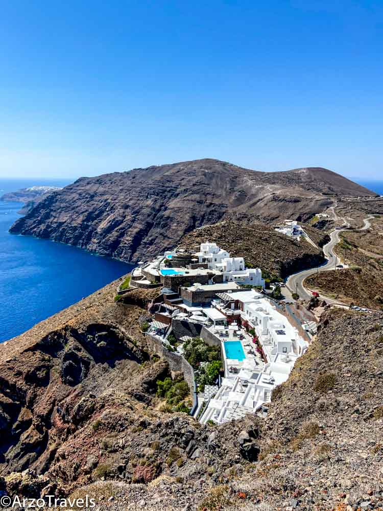 Hiking in Santorini with Arzo Travels
