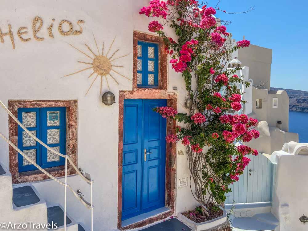 Oia Santorini Arzo Travels