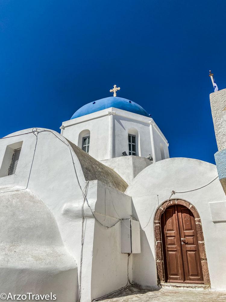 Pyrgos in Santorini, Greece Arzo Travels