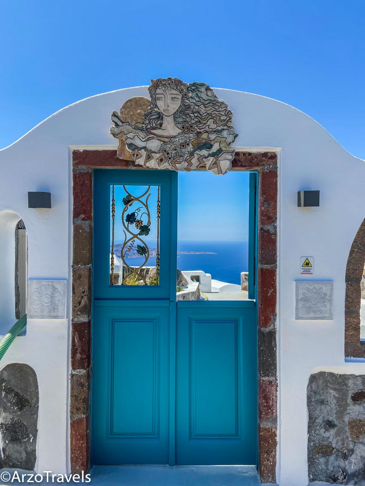 Santorini hike, Greece with Arzo Travels