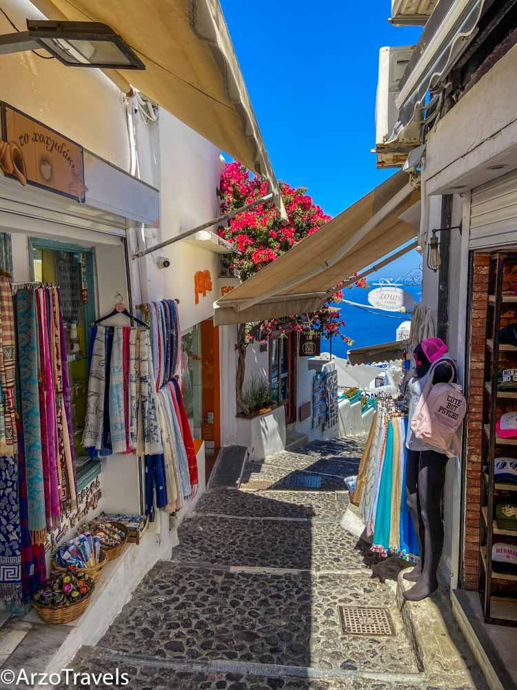 Santorini with Arzo Travels