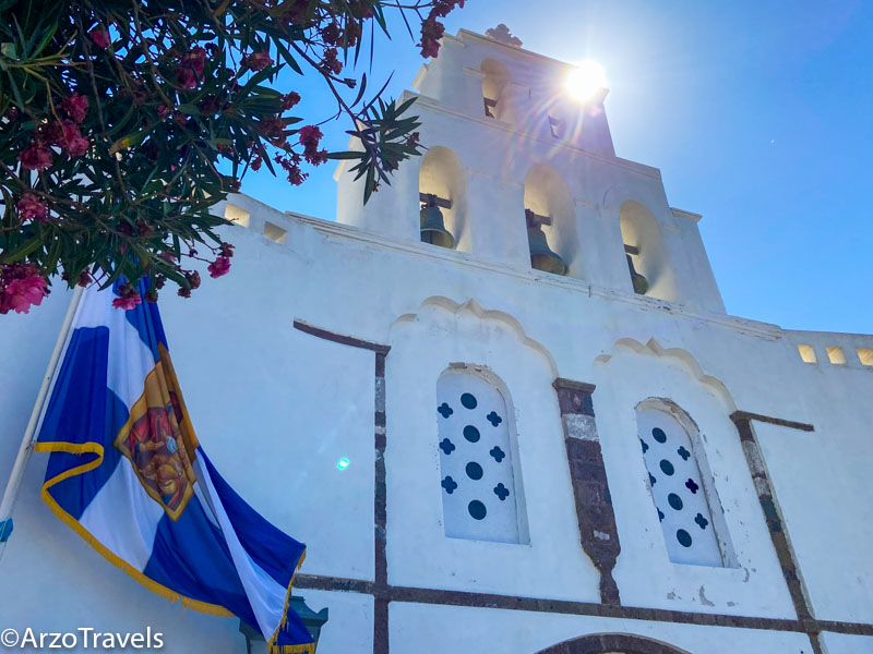 Things to do in Pyrgos in Santorini, Greece with Arzo Travels