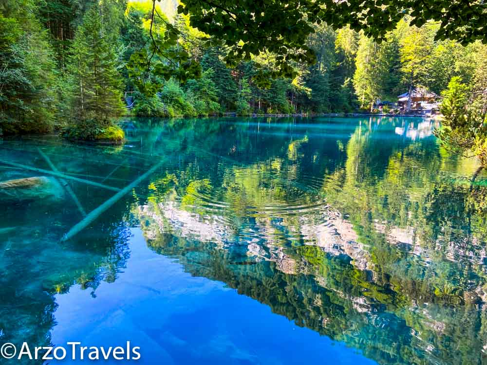 BLausee in Bernese Oberland with Arzo Travels