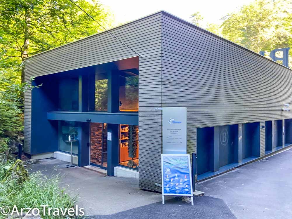 Blausee visitor center