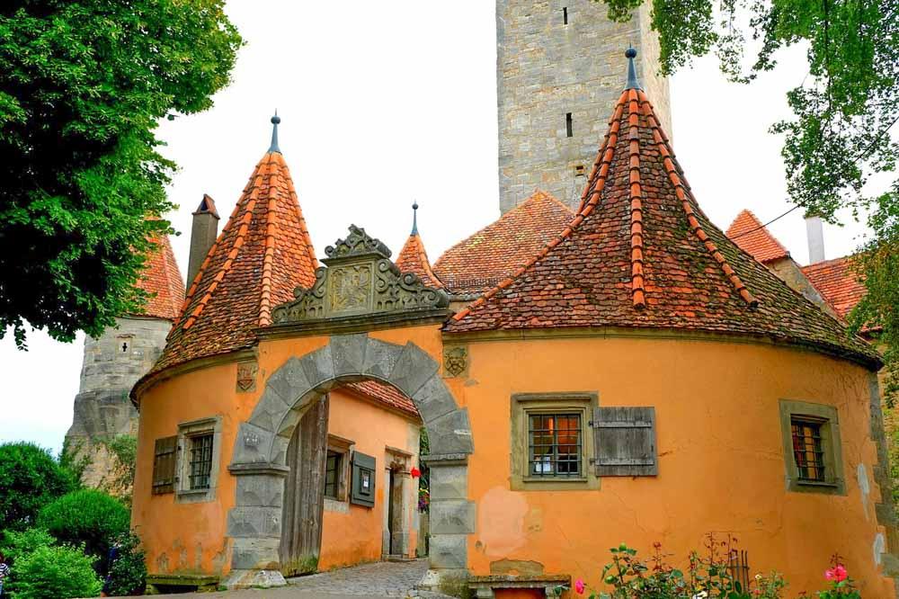 Castle Garden in Rothenburg