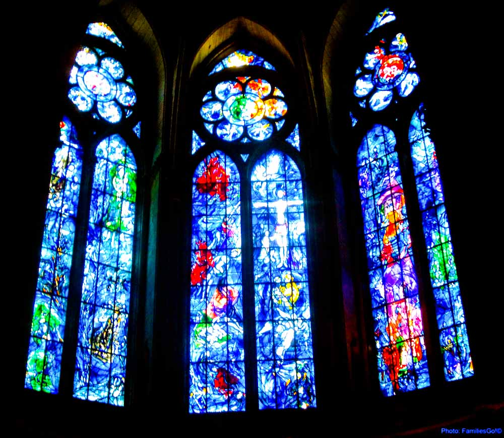 Day Trip to reims chagall window