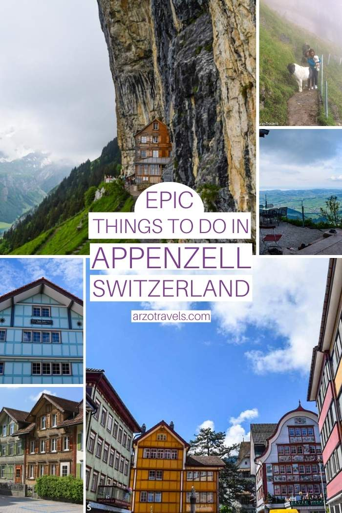 Epic things to do in Appenzell, Switzerland Arzo Travels