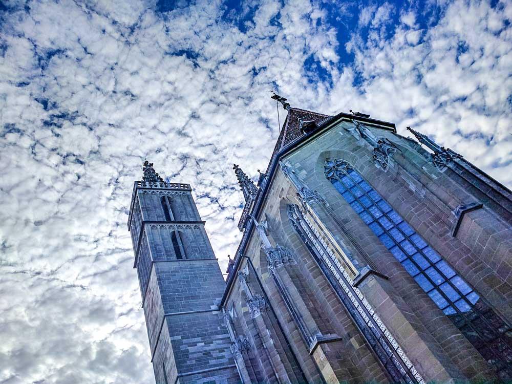 St. James Church in Rothenburg ob der Tauber
