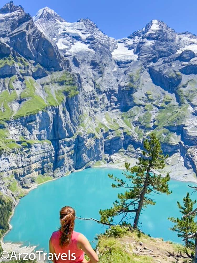 Stunning Lake Oeschinensee with Arzo Travels