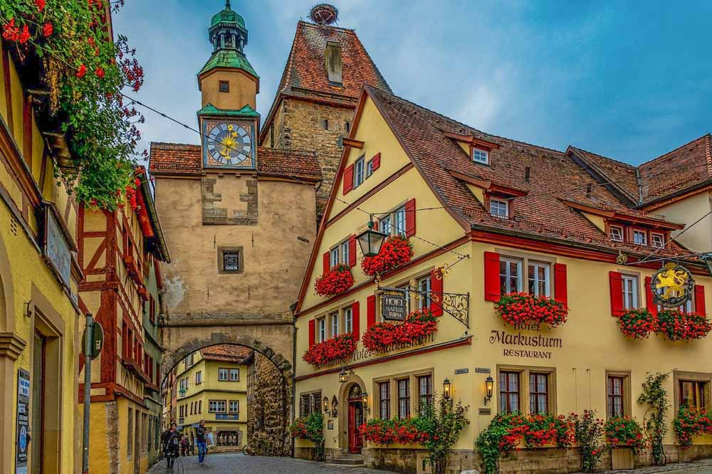 rothenburg ob der Tauber tower