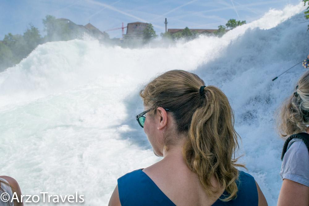Arzo Travels in Schaffhausen, Rhine Falls