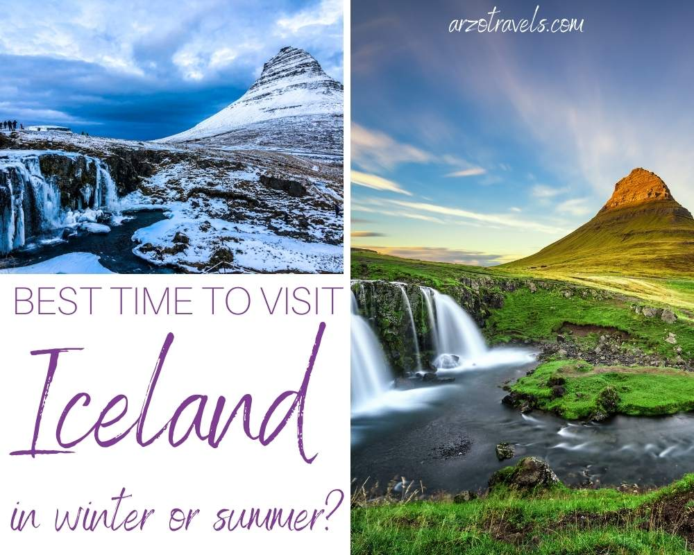 Best time to visit Iceland, winter or summer Arzo Travels