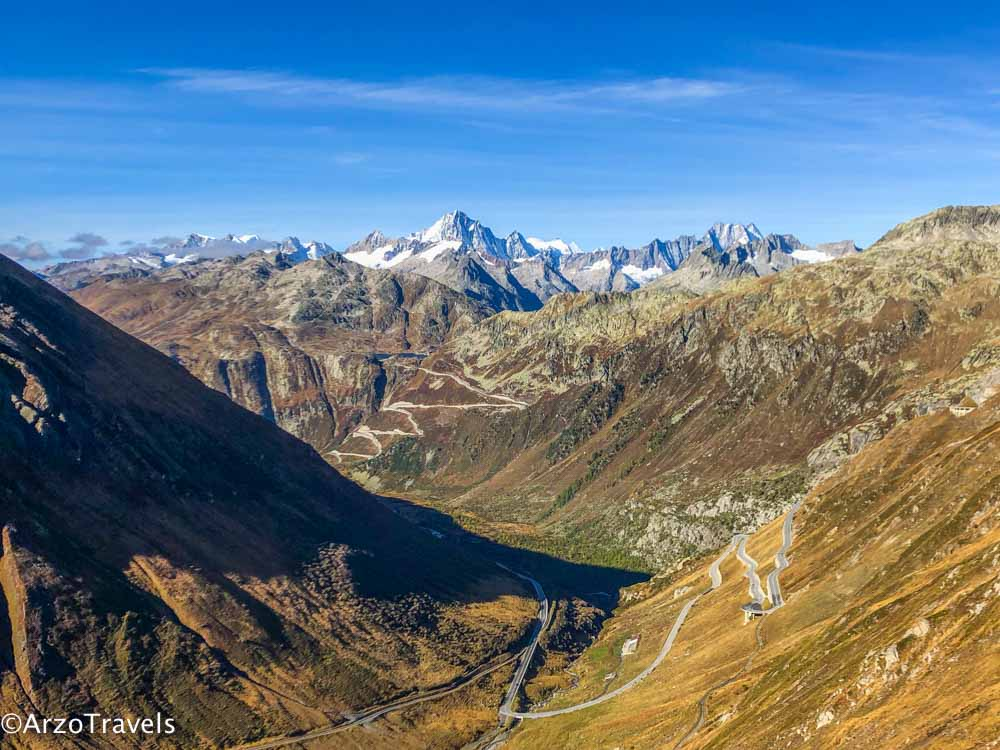 Furka Pass road trip itinerary for Switzerland