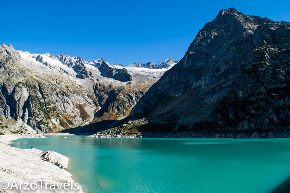 Gelmersee hike in Switzerland Arzo Travels