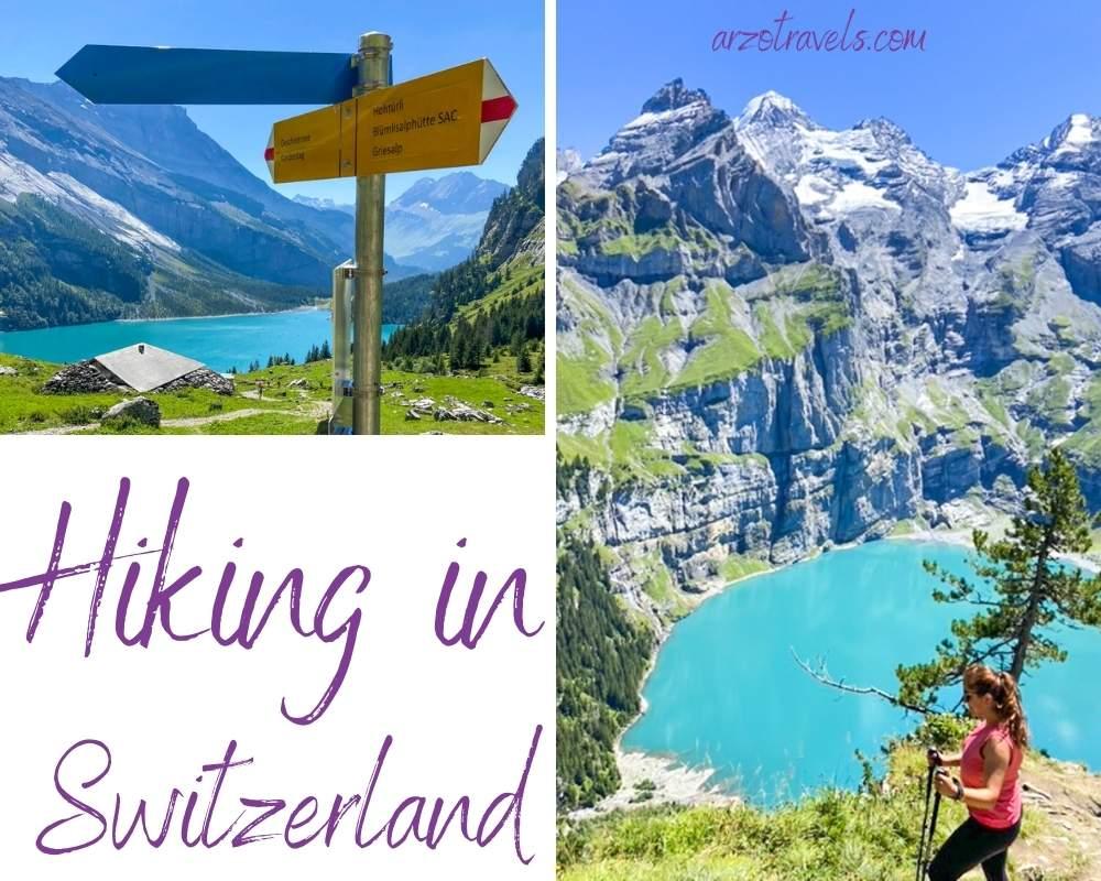 Hiking in Switzerland, Arzo Travels