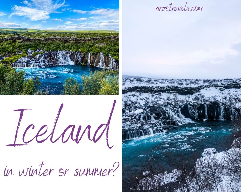 Iceland in winter or summer Arzo Travels