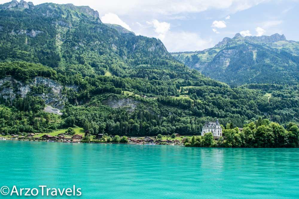 Iseltwald castle Switzerland Arzo Travels