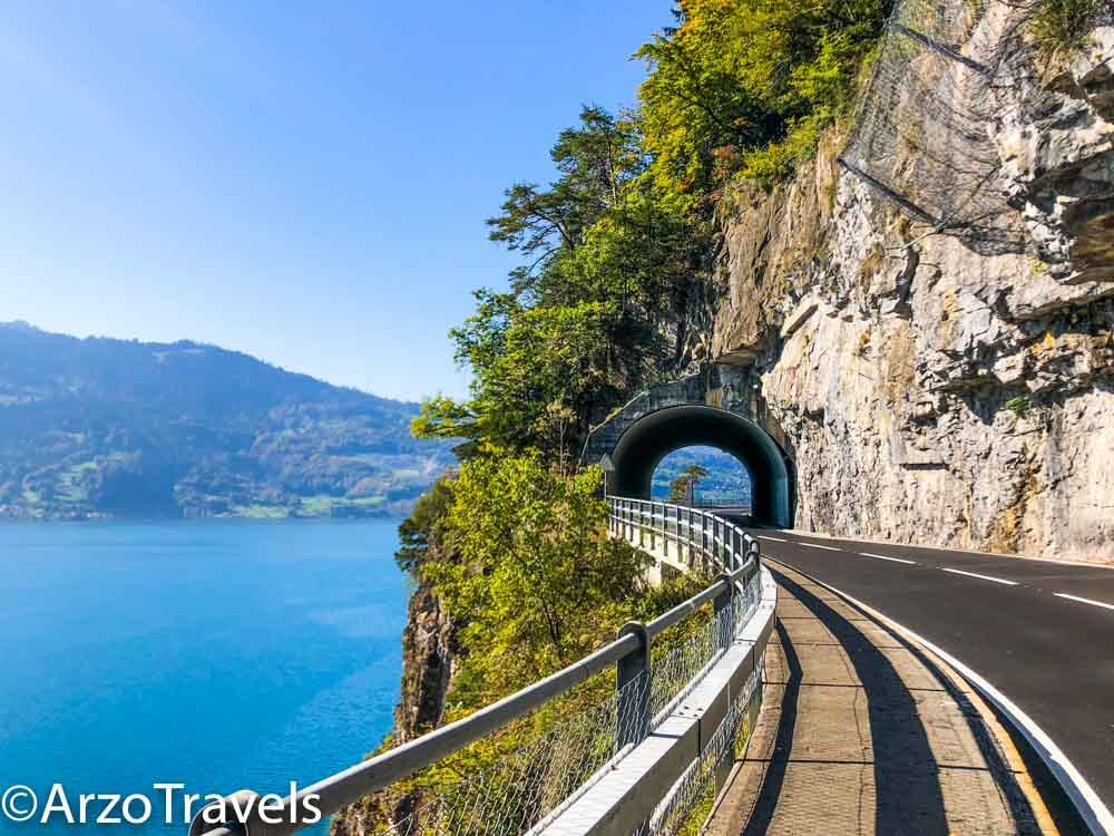 Switzerland road trip tips by Arzo Travels, Lake Thun