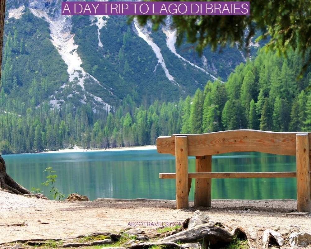 A day trip to Lago di Braies, Arzo Travels