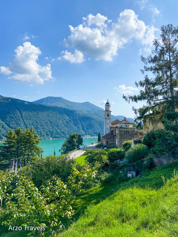 Vico Morcote in Ticino