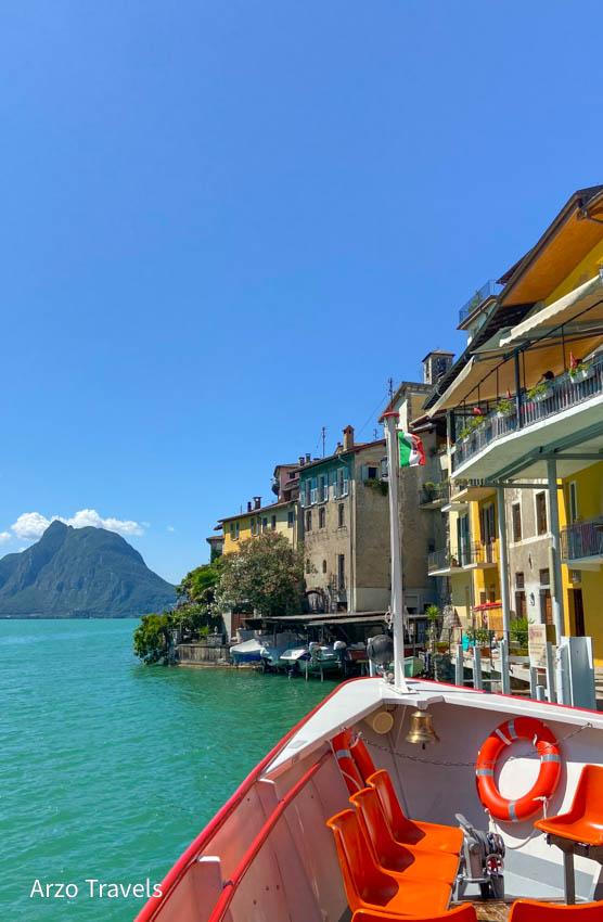 Boat tour on Lake Lugano-2