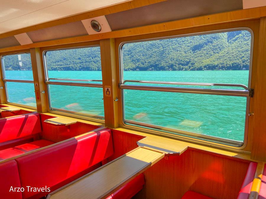 Lake Lugano boat tour
