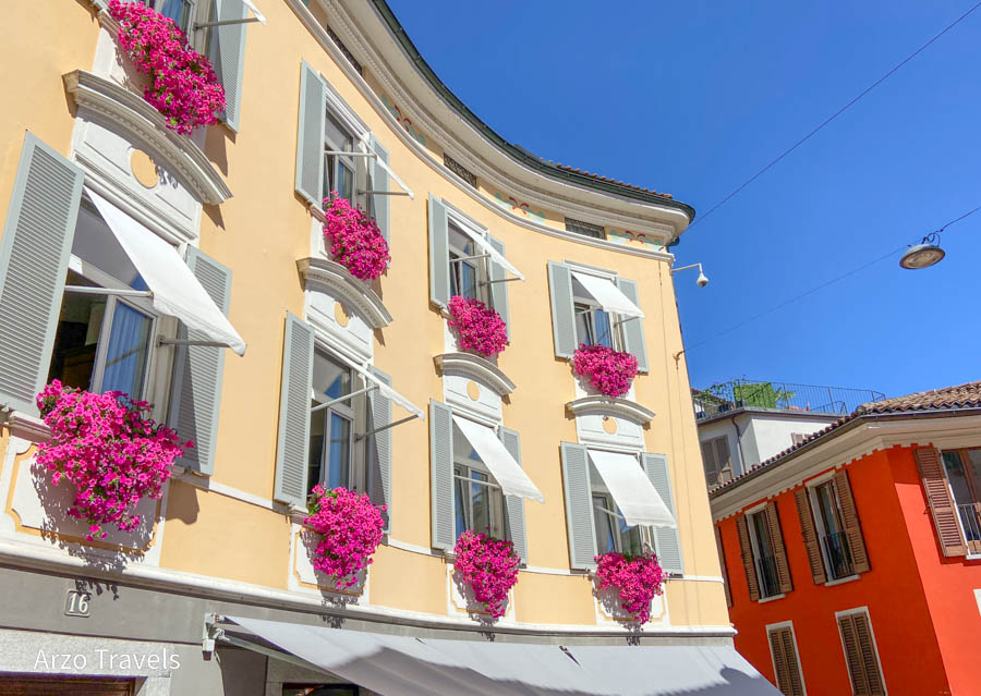 Old town of Lugano