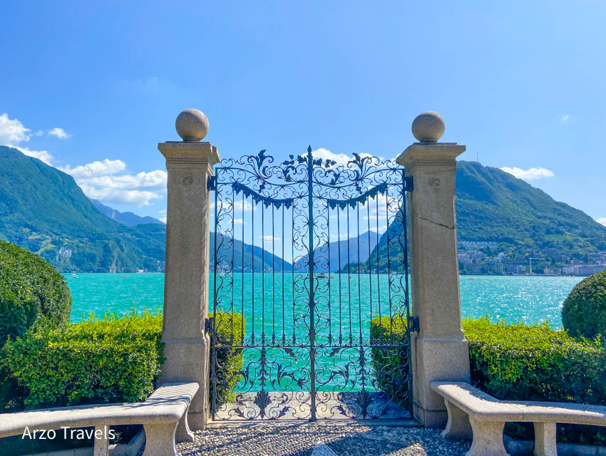 Parco Ciani is one of the most beautiful places in Lugano