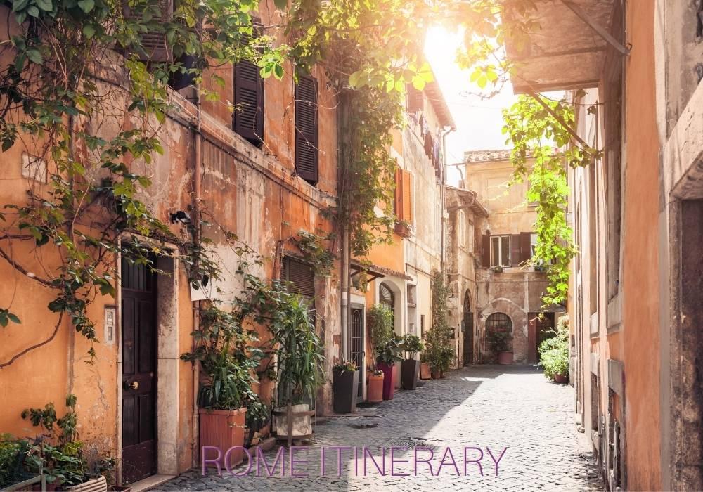 Rome itinerary Arzo Travels