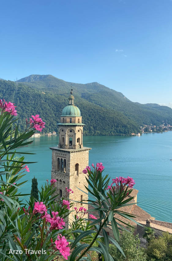 What to do and see in Morcote, Ticino, travel guide